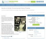 Environmental History Timeline