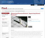 Enhancing Humane Science - Improving Animal Research