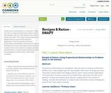Recipes & Ratios - DRAFT