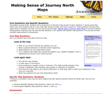 Making Sense of Journey North Maps: Core Questions