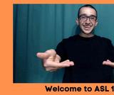 American Sign Language 101 OER