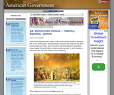 1d. Democratic Values — Liberty, Equality, Justice