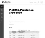 US Population 1790-1860