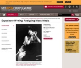 Expository Writing: Analyzing Mass Media, Spring 2001