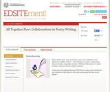 All Together Now: Collaborations in Poetry Writing