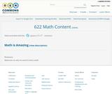 622 Math Content
