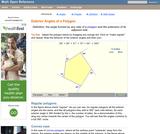 Polygon Exterior Angles