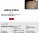 U.S. History I (OS Collection)