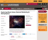 Exploring Black Holes: General Relativity and Astrophysics, Spring 2003