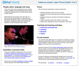 Indigenous Peoples: People, Place, Language and Song