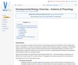 Developmental Biology Overview - Anatomy & Physiology
