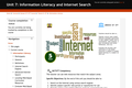 Information Literacy and Internet Search