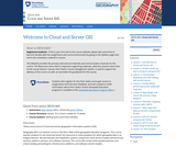 Cloud and Server GIS