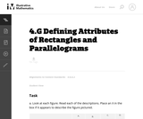 4.G Defining Attributes of Rectangles and Parallelograms