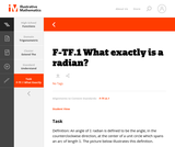 F-TF.1 What exactly is a radian?