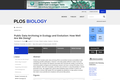 Public Data Archiving in Ecology and Evolution: How Well Are We Doing?