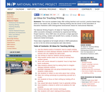 30 Ideas for Teaching Writing