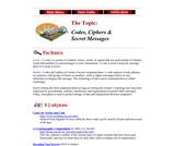 Codes, Ciphers, & Secret Messages