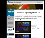 Aerosols and Warming Change with Time: Version 1