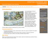 American Literature and Composition - Colonial Literature