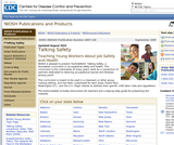 Youth@Work: Talking Safety