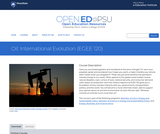 Oil: International Evolution