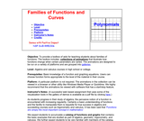 Families of Functions and Curves