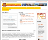 Arizona Solar Center Homepage