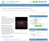 An Inflated Impression of Mars