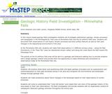 Geologic History Field Investigation - Minnehaha Falls