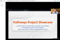 """""""Pathways Project Showcase"""" Webinar Recording (Closed Captioned) 