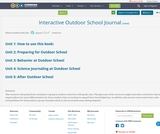Interactive Outdoor School Journal
