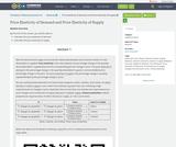 Principles of Macroeconomics 2e, Elasticity, Price Elasticity of Demand and Price Elasticity of Supply