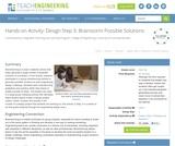 Design Step 3: Brainstorm Possible Solutions