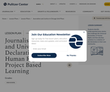 Journalism, Justice, and Universal Declaration of Human Rights: Project Based Learning
