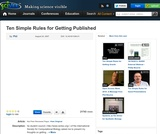 Ten Simple Rules for Getting Published