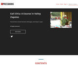Cali Chiu: A Course in Valley Zapotec