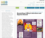 Storytelling:  A Way to Introduce and Express Oneself