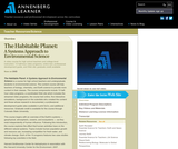 The Habitable Planet: A Systems Approach to Environmental Science