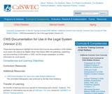 CWS Documentation for Use in the Legal System (Version 2.0)