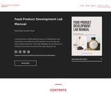 Food Product Development Lab Manual