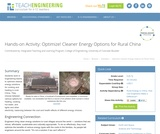 Optimize! Cleaner Energy Options for Rural China