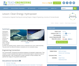 Clean Energy: Hydropower