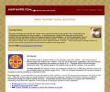 Three Number Sense Activities
