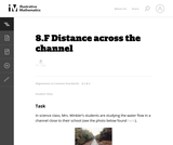 Distance Across the Channel