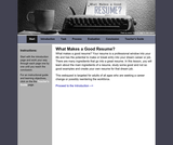 Resume Writing Webquest Activity