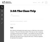 3.OA The Class Trip
