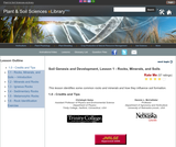 Soil Genesis and Development, Lesson 1 - Rocks, Minerals, and Soils