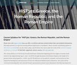 Greece, The Roman Republic, and The Roman Empire