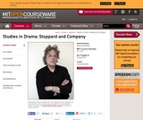 Studies in Drama: Stoppard and Company, Spring 2014